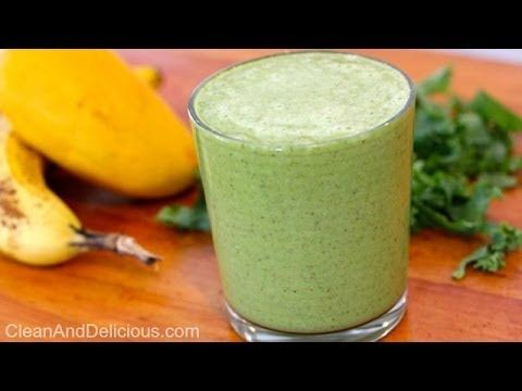 Clean Eating Sweet Green Smoothie