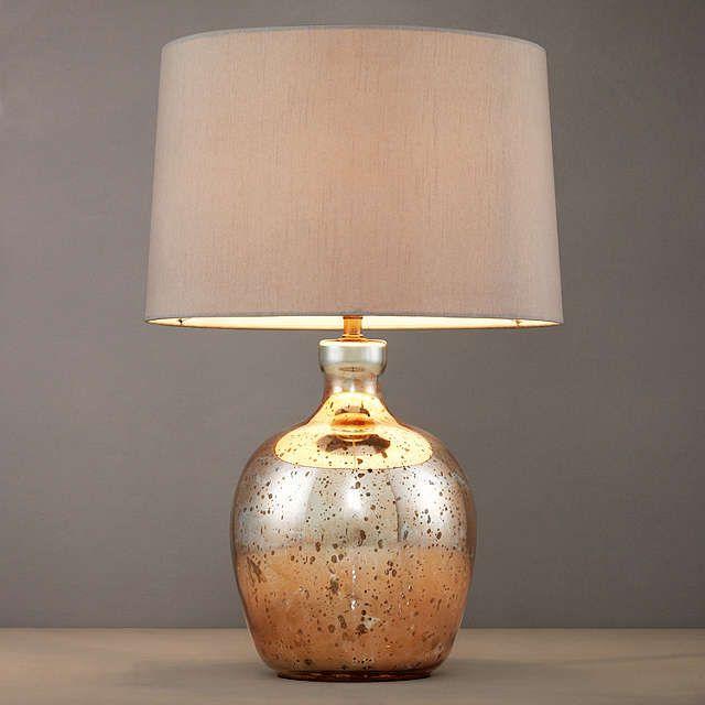 John Lewis Tabitha Copper Table Lamp at John Lewis