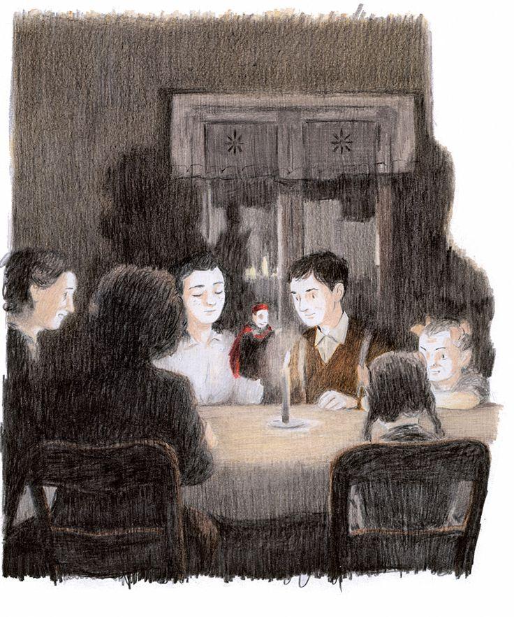 La notte seguente mi svegliai sudato e  tremante, sapevo di cosa avevo bisogno:  dovevo vedere gli occhi dei bambini posarsi ancora sui burattini, perché quando brillavano di gioia anche in me qualcosa si accendeva e tornava a vivere.