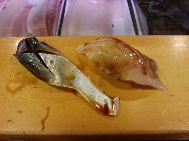 [I ate] Japanese Food: blowfish nigiri ramen udon takoyaki beef tongue...