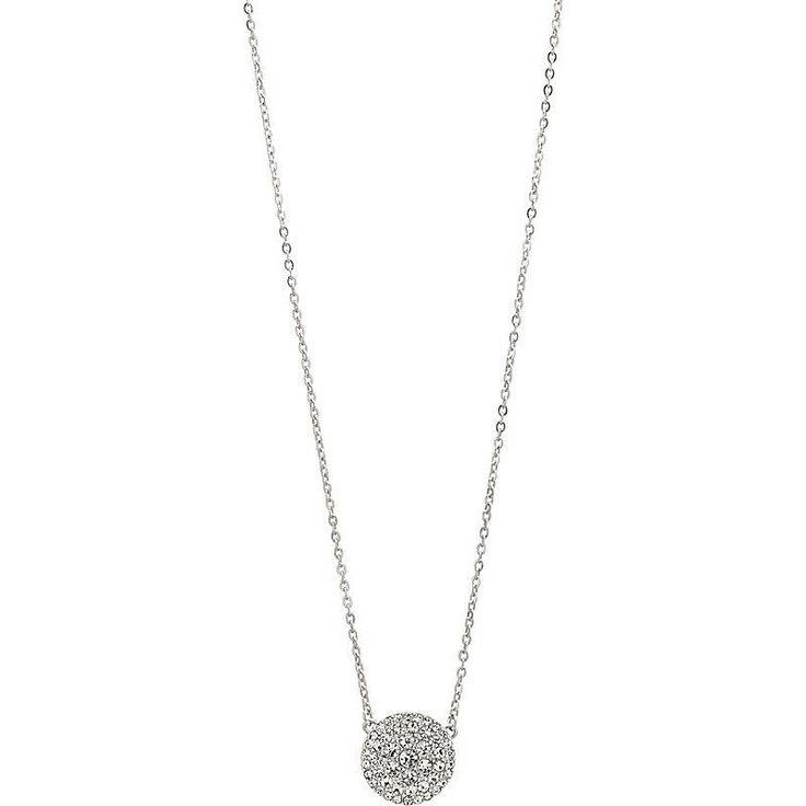 Collana Da Donna Fossil Gioielli in acciaio e strass JF00138040