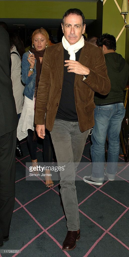 Alain Chamfort during French Touch Party - Aftershow Party - Inside at The Pigalle Club in London, Great Britain.