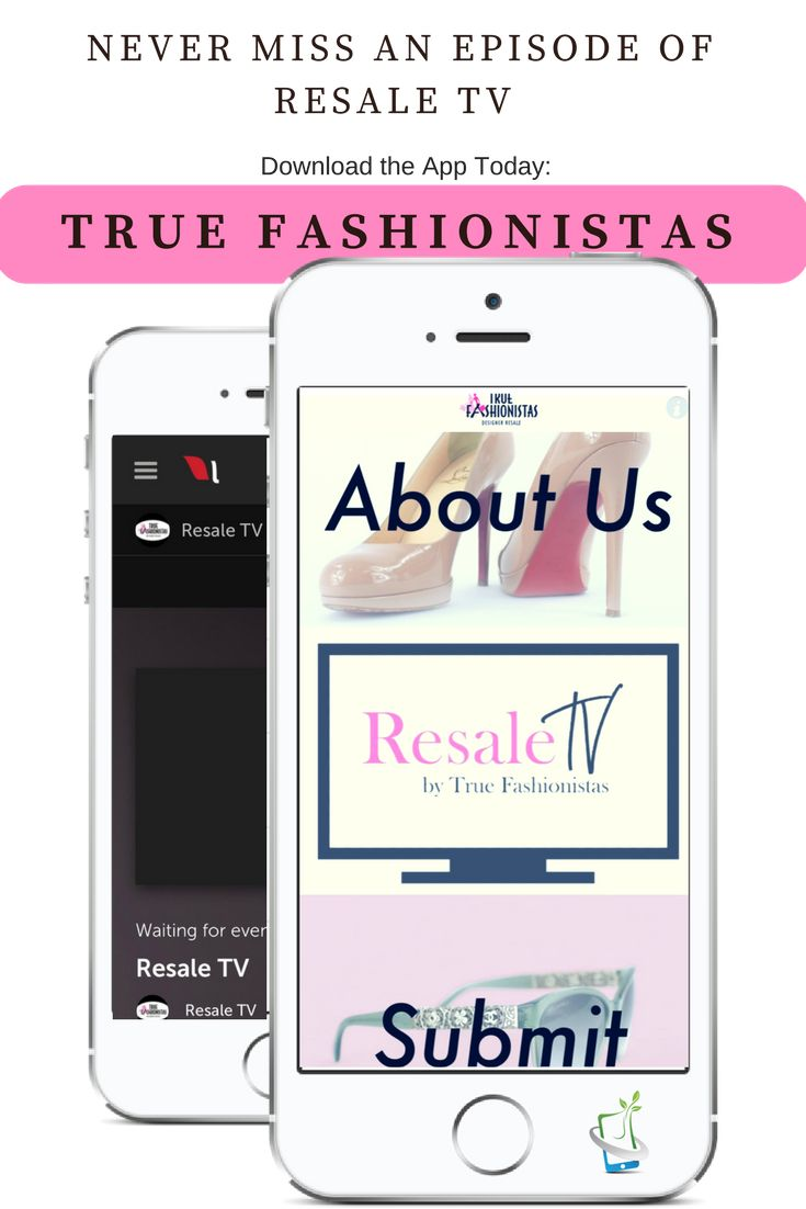 Don't miss Resale TV on Tuesday nights 6:30 PM EST.  Download their mobile app to tune in! Visit Google Play Store or the App Store: True Fashionistas   #TrueFashionistas #ResaleTV #BrandgardenMobileApps   App by: www.brandgarden.biz