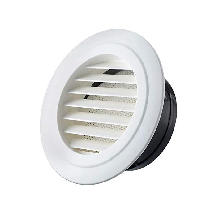 hg power 4 inch round air vent abs