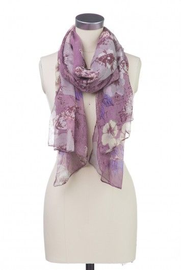 Type 2 Butterfly Blend Scarf