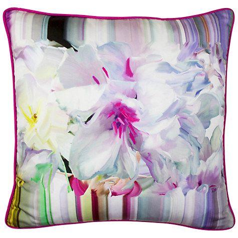 Buy Ted Baker Hanging Garden Cushion, Pink Online at johnlewis.com