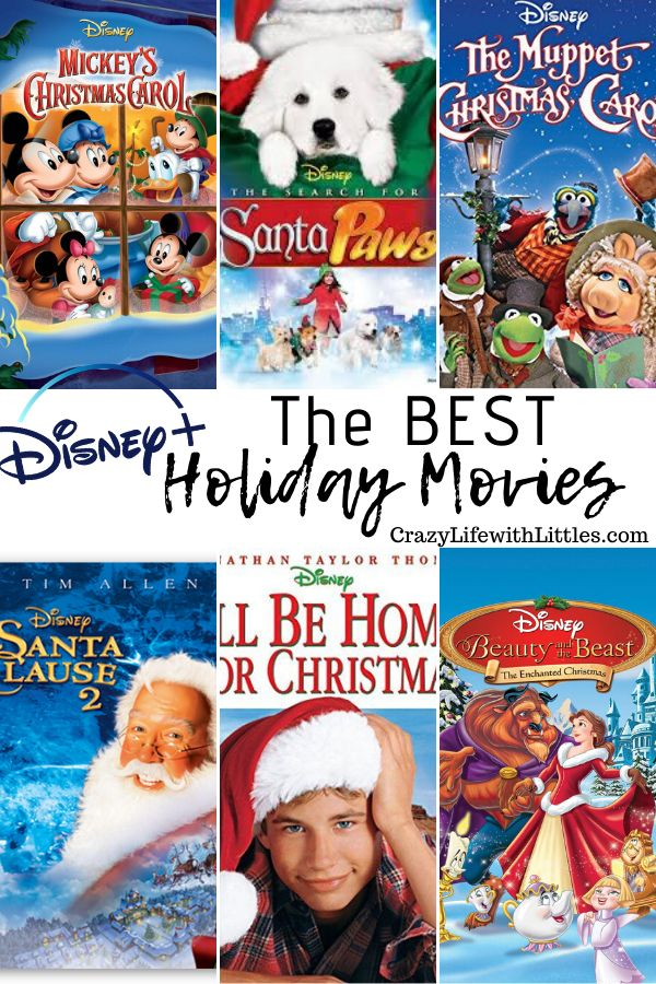 The BEST Throwback Disney+ Holiday Movies Family