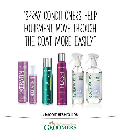 Spray Conditioners