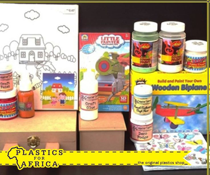 Feeling crafty? Pop in at #PlasticsforAfrica and get everything you need to make your own gifts. We have everything from craft paint, glue, decoupage and other accessories available. #Craft #Gifts
