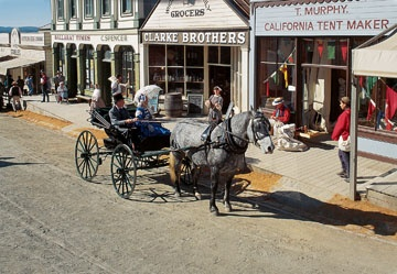 Sovereign Hill living museum in Ballarat , Aust....totally awesome !