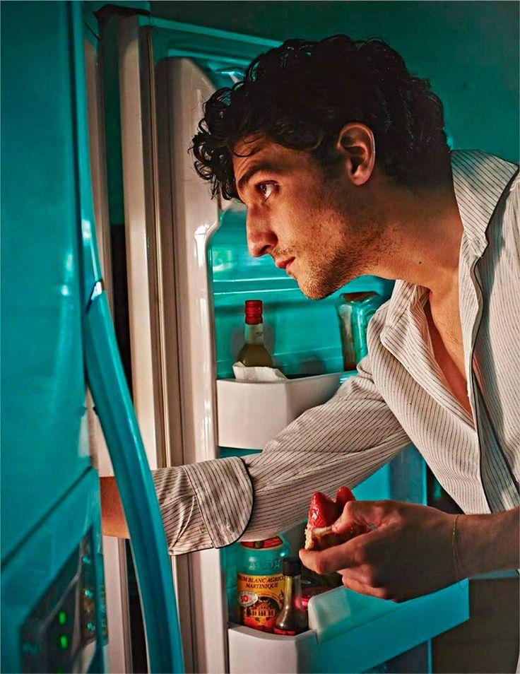 Louis Garrel ph Mario Sorrenti for Vogue Hommes Paris