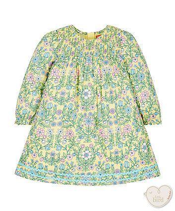 Little Bird by Jools Floral Smock Dress