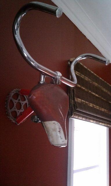 Bike Parts Antlers by ReCycledArtwerks on Etsy, $125.00
