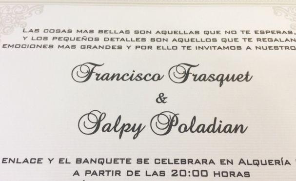 Spanish Wedding Invitations Examples: #trilingual #wedding #invitation, #Spanish #Wedding
