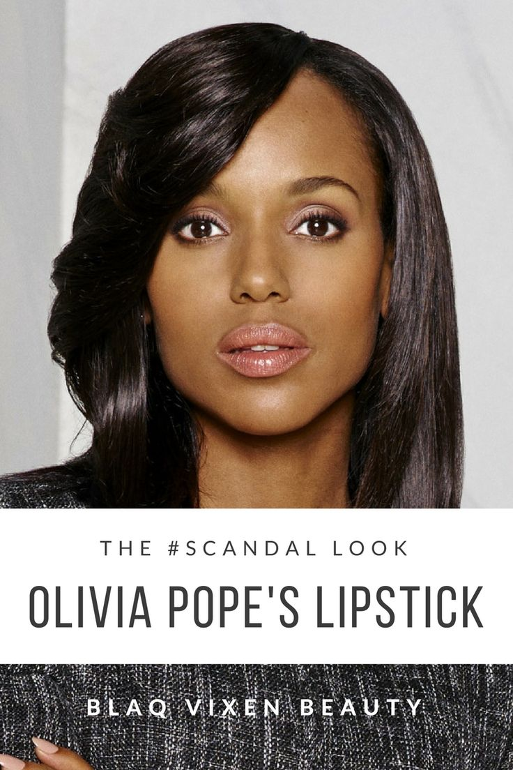 Get the Olivia Pope pink lipstick look with select products from Jouer, Neutrogena, Tarte, Clinique, Bobbi Brown, Chanel and more on Blaq Vixen Beauty