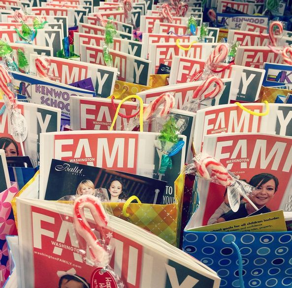 300 giveaway bags at our camp fair last weekend! Thank you to everyone who came out!