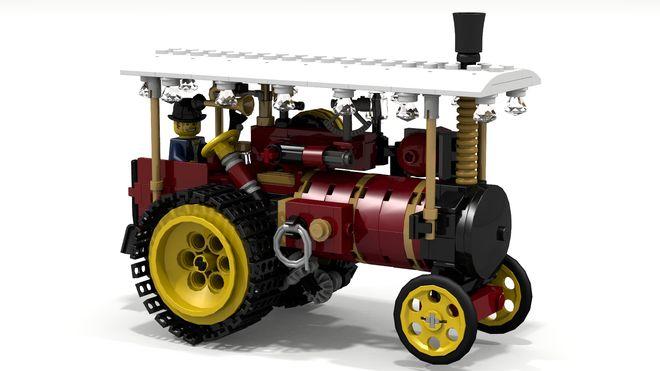~ Lego MOCs ~ LEGO Ideas - Steam Tractor