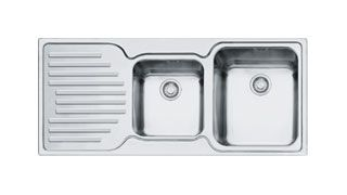 Franke Kitchen Sinks Pacific Plus PFX P 621 Stainless Steel