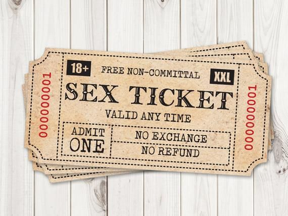 Sexy Gift for Him, Printable Sex Tickets. Kinky Coupon for Boyfriend, Cheap Husband Birthday / Anniversary Gift. Naughty Valentines Game PDF