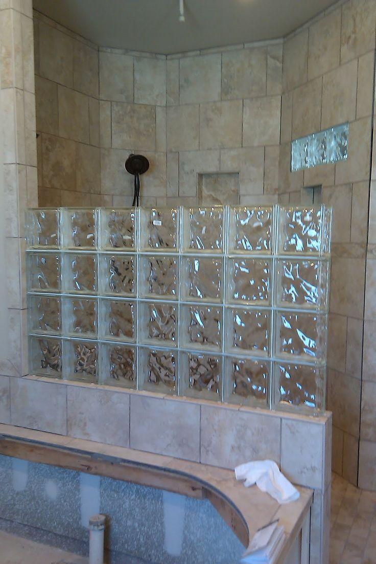 17 Best Ideas About Glass Block Shower On Pinterest
