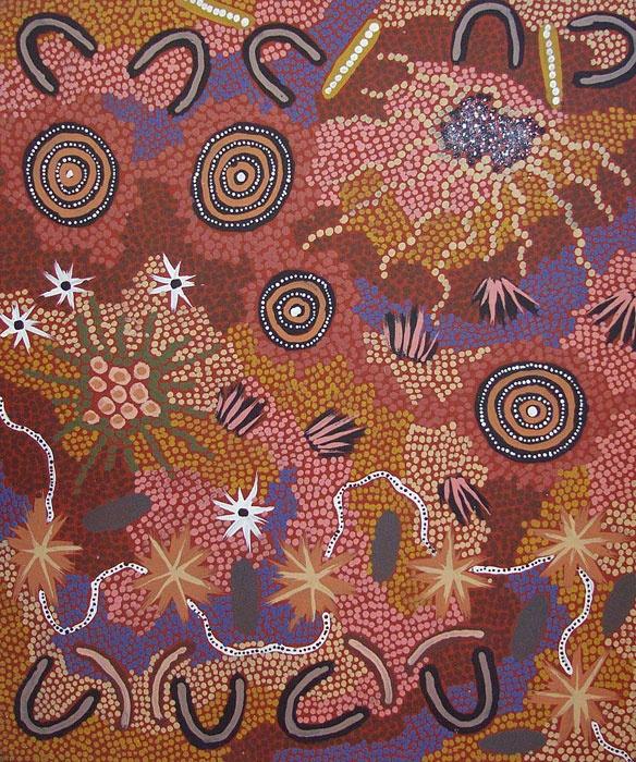 Gabriella Possum Nungurrayi / Bush Tucker Dreaming