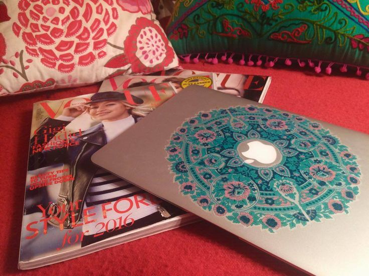 Magazines and my laptop, things you always find in my bed.