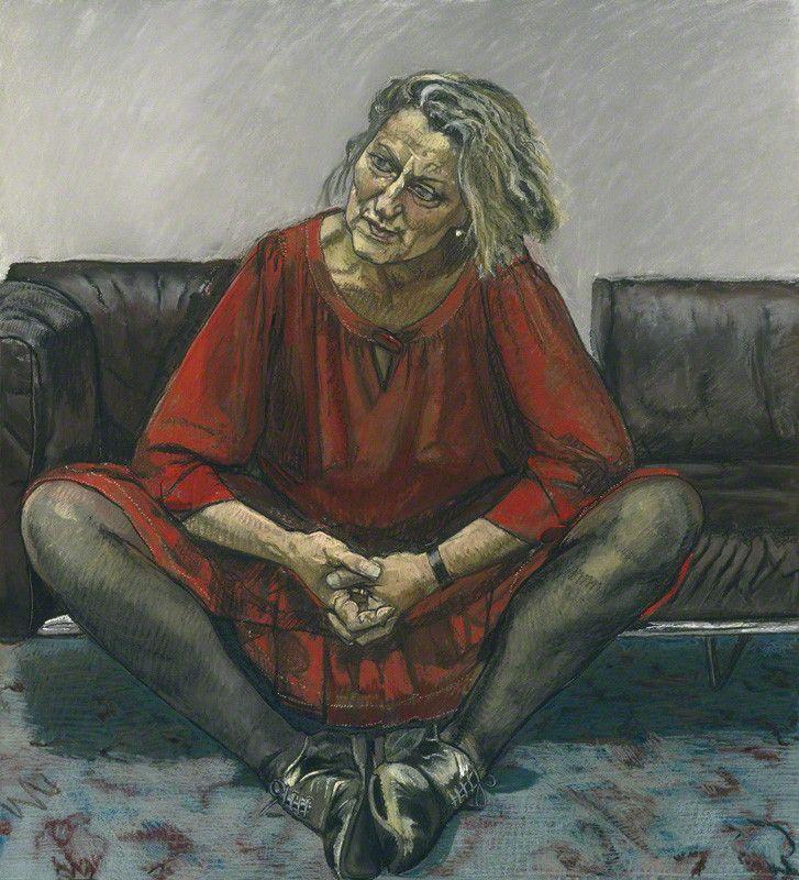 "Germaine Greerby Paula Rego© National Portrait Gallery, London.   Author, ""The Female Eunuch"" (1970)"