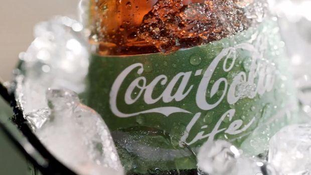 Coca-Cola Life : Le vert remplace le rouge sur ses boissons pour sa gamme mid-calories