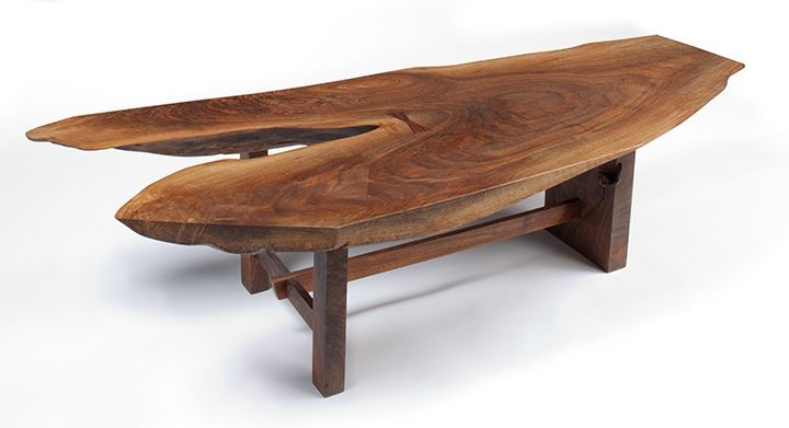 Walnut Coffee table for my BC house on the water :)