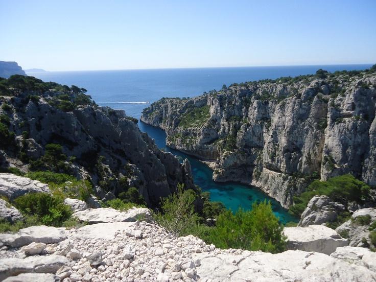 Calanques de Cassis' cliffs,France