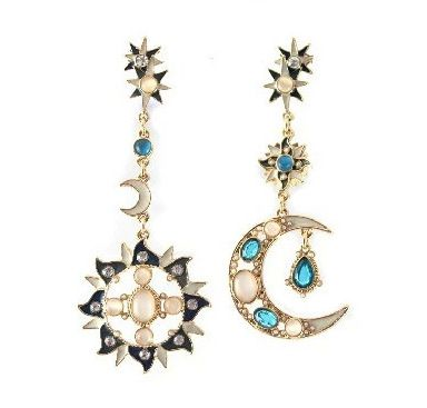 1-Pair-New-Elegant-Women-Vintage-Style-Fashion-Rhinestone-Dangle-Stud-Earrings