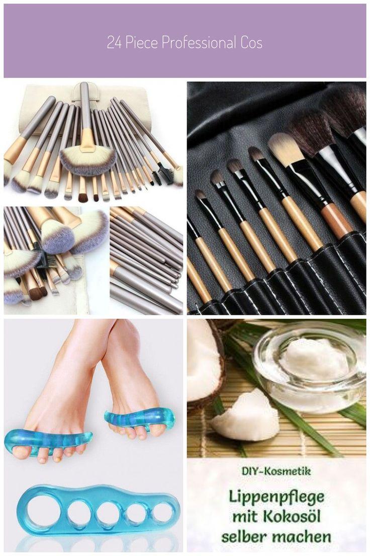 24 Piece Professional Cosmetics Foundation & Makeup Brush