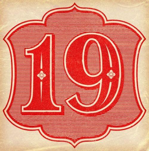 Typography Advent Calendar : Best number typography ideas on pinterest