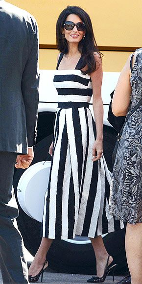 Love the stripes and length.