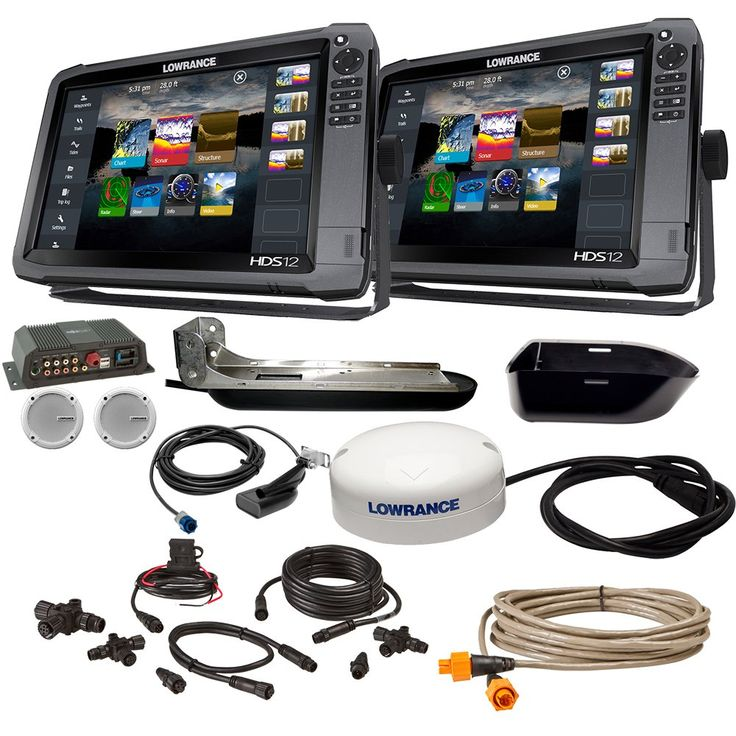 Lowrance HDS12 Gen3 Insight/HDS12 Boat in a Box w/HDI