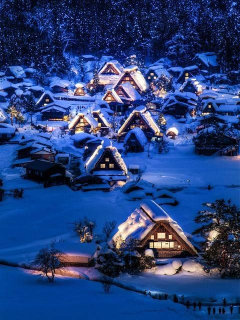 Shirakawa-go, Japan - UNESCO heritage #places