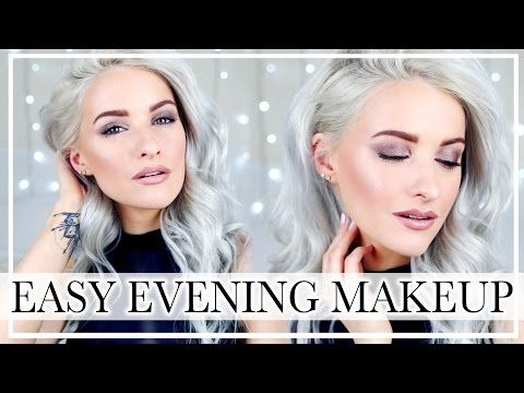GET READY WITH ME: Easy Evening and Wedding Guest Makeup Look with Glowy Skin and Smokey Eyes ad - YouTube