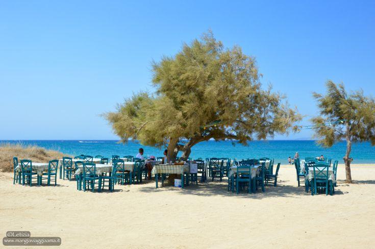 Placa beach, Naxos #naxos #greece