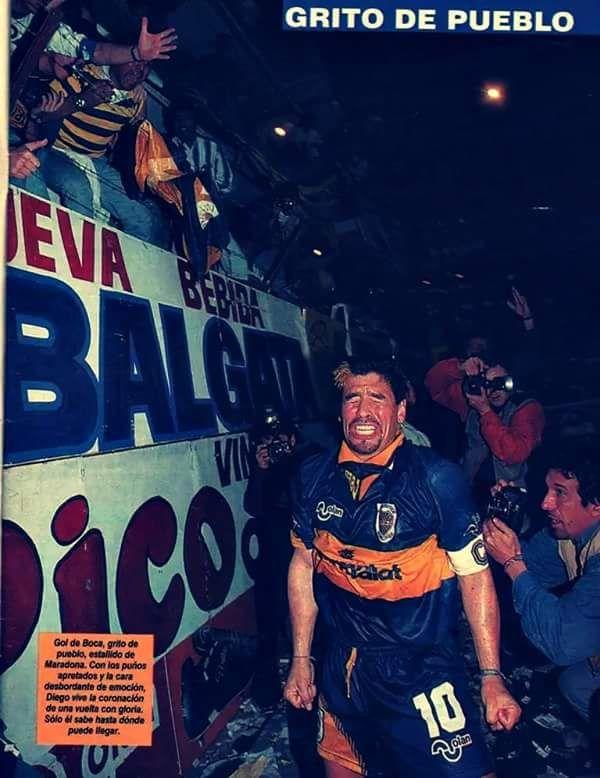 Boca Juniors - Diego Armando Maradona - La Historia Continua (@javierlofrano) | Twitter