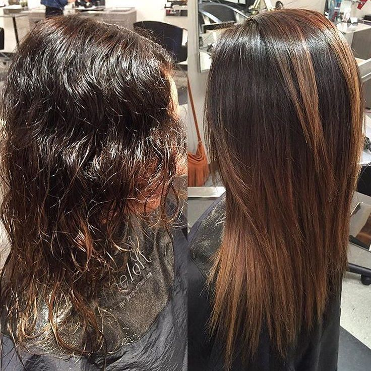 25 Luxurious Brazilian Blowout Hairstyles Before And
