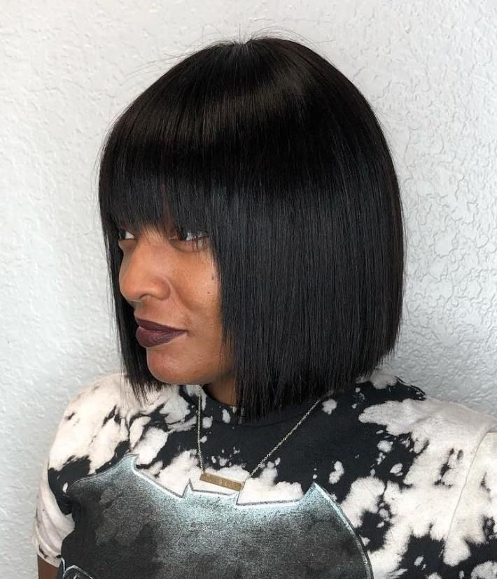 50 Best Bob Hairstyles For Black Women To Try In 2020 Hair Adviser In 2020 Bob Hairstyles Black Women Hair Loss Black Women Hairstyles