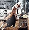 Best barrel racing quote out there, hands down!