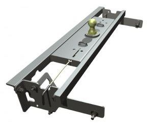 BW1057 --- B&W 30K Underbed Turnover Gooseneck Trailer Hitch - Chevy/GMC