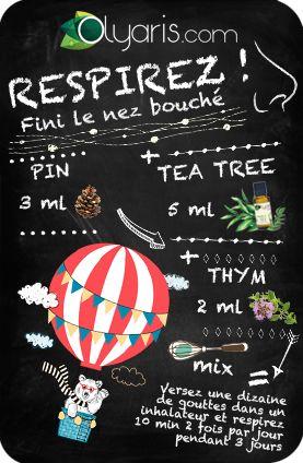 Respirez sans encombre ! Olyaris prend soin de votre nez grâce à cette synergie d'huiles essentielles incluant le pin.