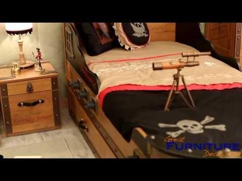 Cilek   Pirate 2 Drawer Nightstand   20.13.1601.00 | Great Furniture Deal