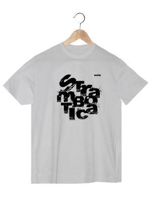 Camiseta de algodón orgánico en colora blanco para chico TLBH  www.strambotica.es