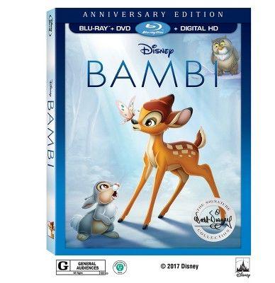 Bambi: The Walt Disney Signature Collection (Blu -ray + DVD + Digital) : Target