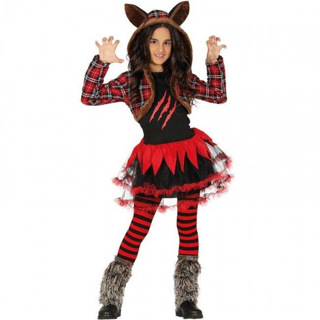 Quatang Gallery- Disfraz De Loba Halloween Para Nina Tutu Pour Fille Costume Halloween Robe Fantaisie