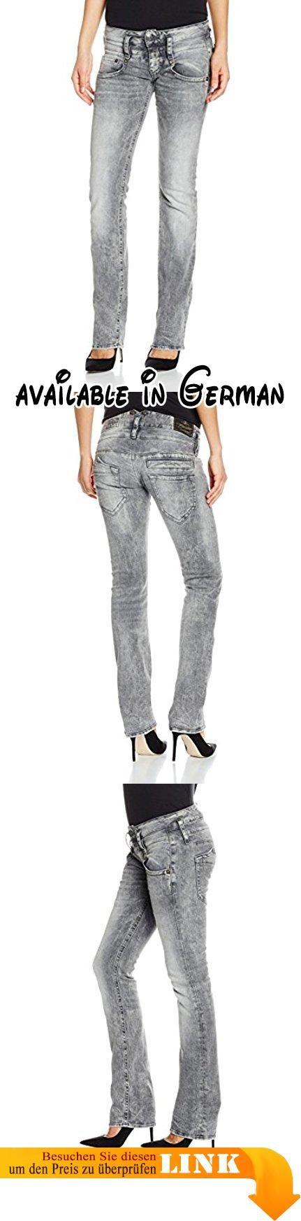 Herrlicher Damen Straight Jeans (Gerades Bein) Pitch Denim, Grau (Bleak 041), W25/L32 (Manufacturer Size:25).  #Apparel #PANTS