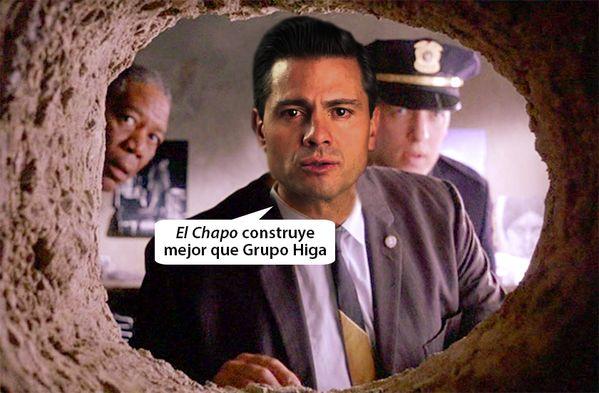 Los memes del Chapo Guzmán y su fuga